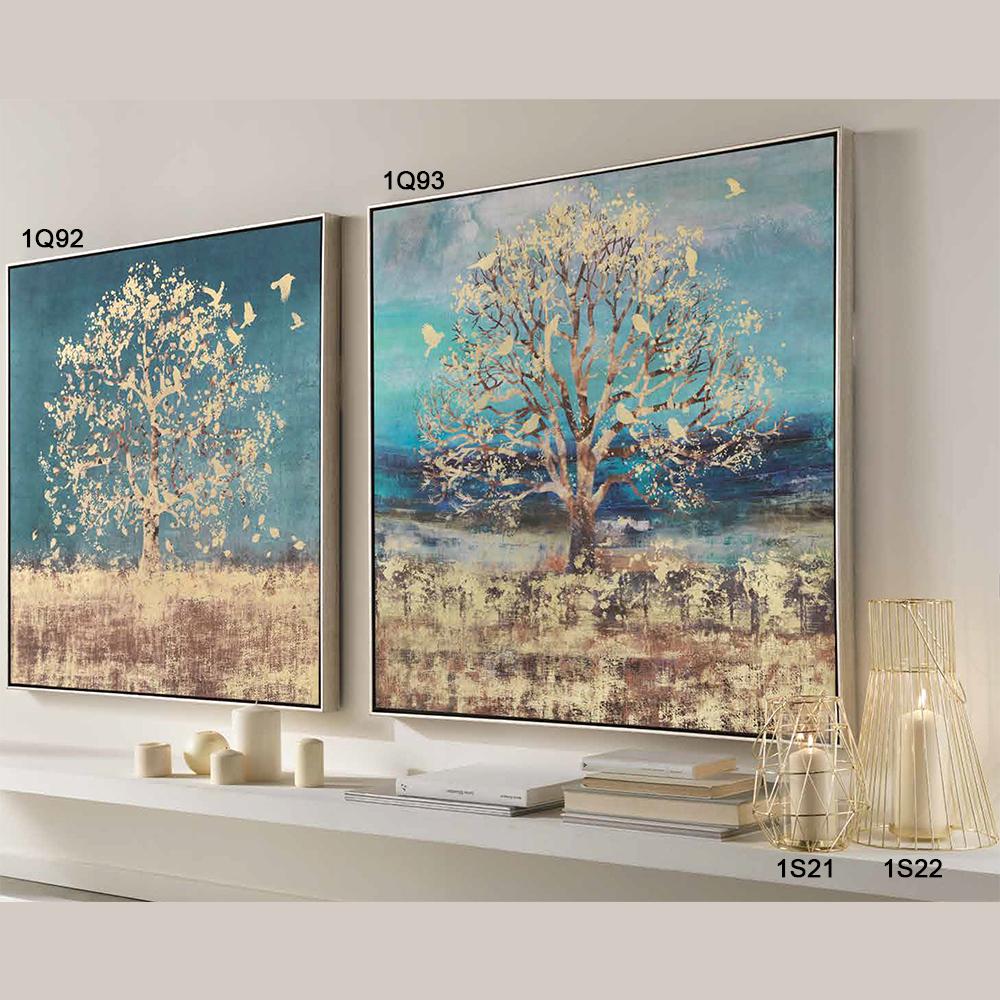1q93 quadro con cornice stampa serigrafica 103x103 l 39 oca nera for Ottaviani quadri moderni