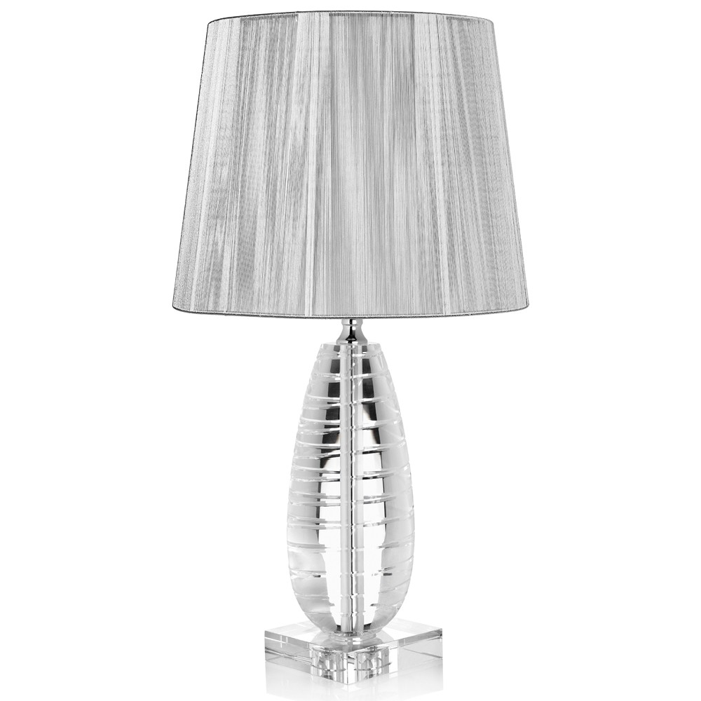 Ottaviani lampada in cristallo Platinum
