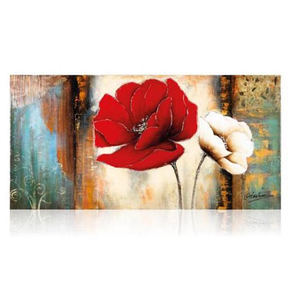 250076 quadro su tela tulipani 75x150 ottaviani home - Ikea quadri su tela ...